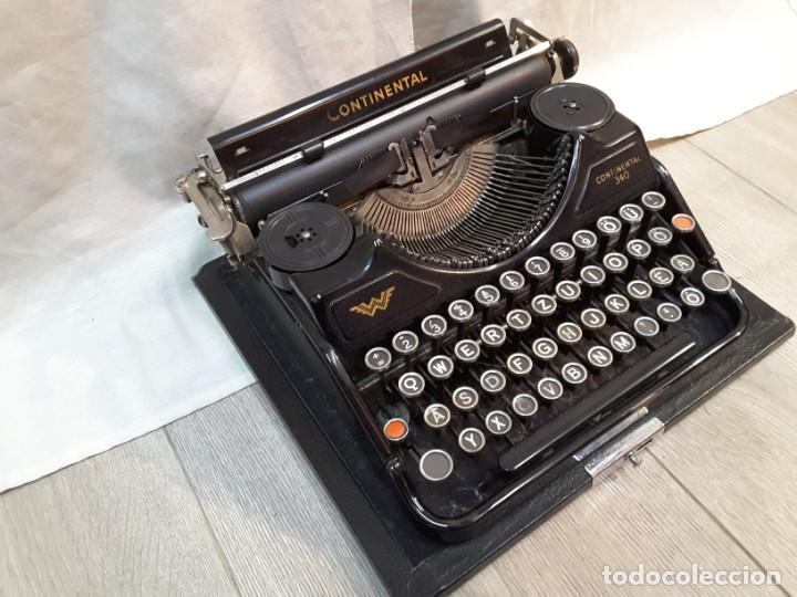Antigüedades: Máquina de escribir Continental. Años 30 - Foto 3 - 141224930