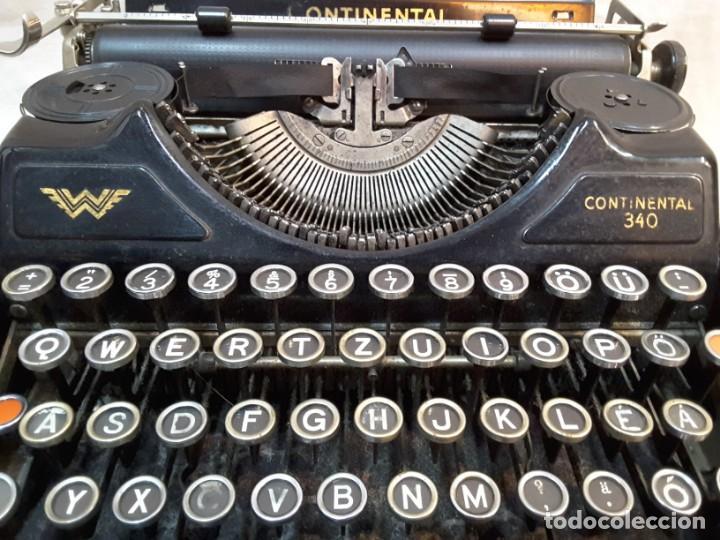 Antigüedades: Máquina de escribir Continental. Años 30 - Foto 4 - 141224930