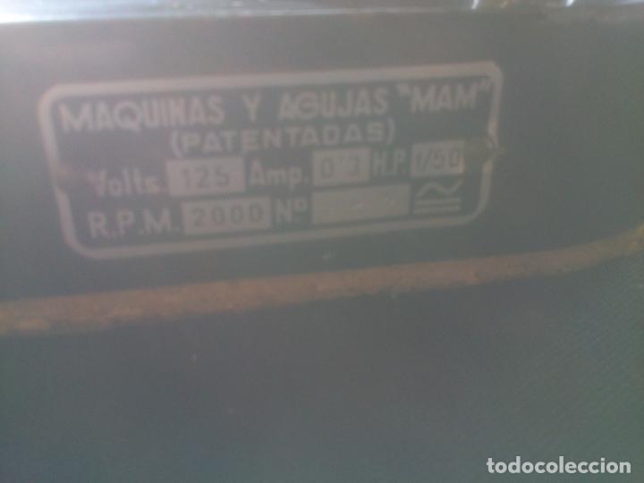 Antigüedades: ANTIGUA REMALLADORA MEDIAS INDUSTRIAS MAM VALENCIA - Foto 2 - 141262710