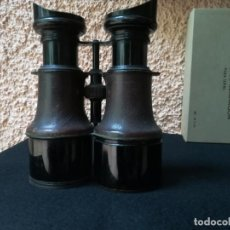 Antigüedades: GEMELOS ( NO PRISMÁTICOS) BINOCULARES, MARCA IRIS PARÍS. Lote 141309822