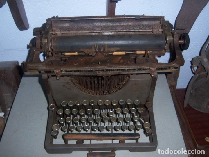 MAQUINA DE ESCRIBIR MODELO MERCEDES (Antigüedades - Técnicas - Máquinas de Escribir Antiguas - Mercedes)