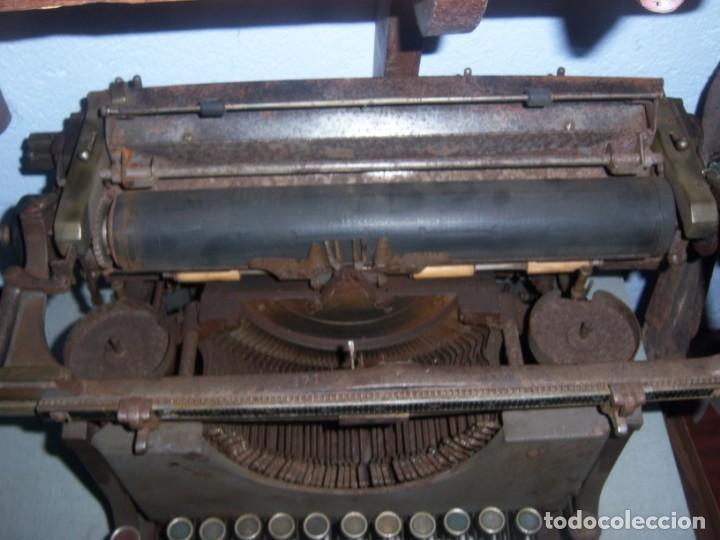 Antigüedades: maquina de escribir modelo mercedes - Foto 2 - 141311386