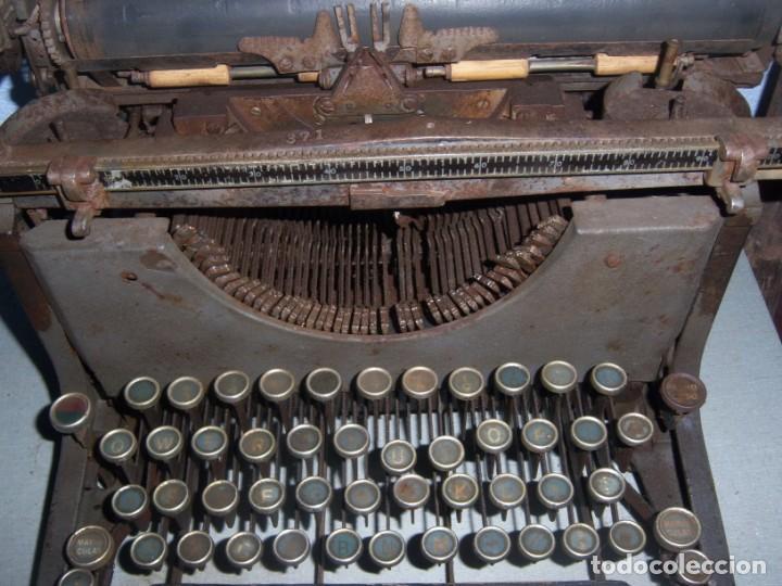 Antigüedades: maquina de escribir modelo mercedes - Foto 3 - 141311386