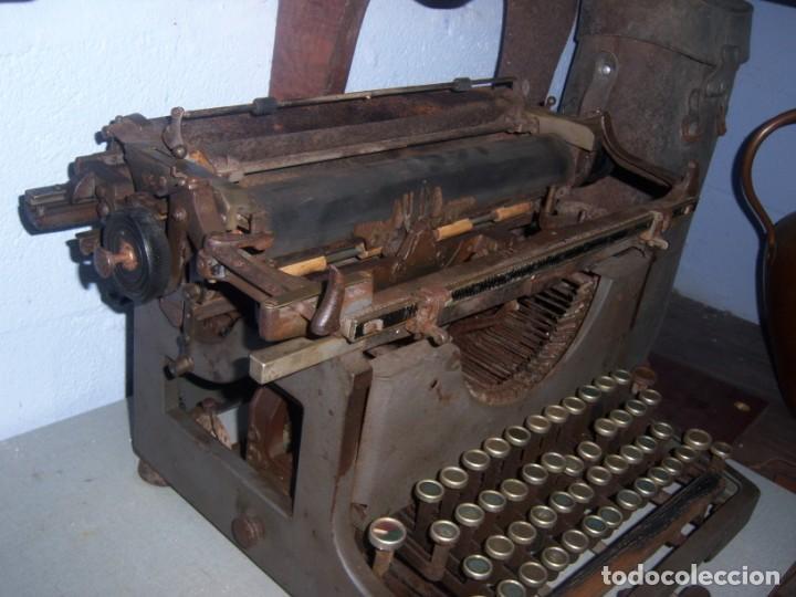 Antigüedades: maquina de escribir modelo mercedes - Foto 4 - 141311386
