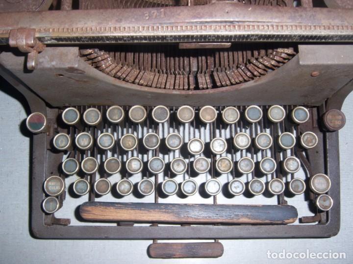 Antigüedades: maquina de escribir modelo mercedes - Foto 5 - 141311386