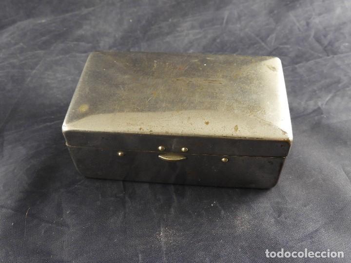 Antigüedades: MAQUINILLA GILLETTE COMPLETA ANTIGUA EN SU ESTUCHE - Foto 2 - 143381190