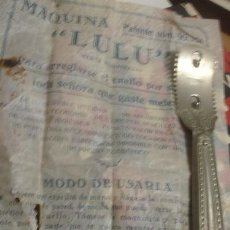 Antigüedades: CAJA Y MAQUINILLA MARAVILLA PARA MUJER - PORTAL DEL COL·LECCIONISTAS ******. Lote 141653390