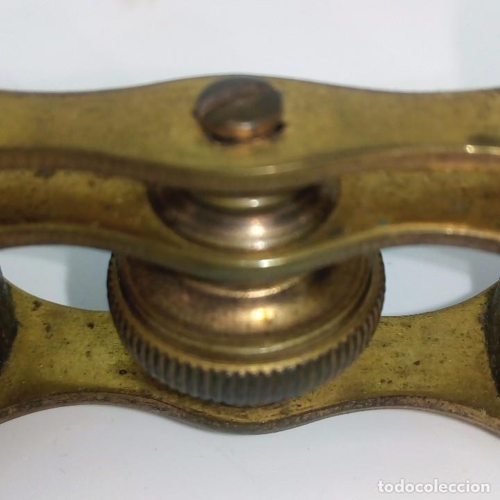 Antigüedades: ANTIGUOS BINOCULARES PARA OPERA EN SU ESTUCHE ORIGINAL - Foto 4 - 141677930