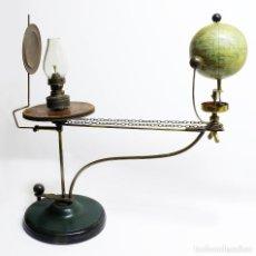 Antigüedades: 1890/1900 IMPRESIONANTE TELURIO LUNARIO (PLANETARIO) DANÉS DE CARL WEITZMANN (FREDERIKSBORG). Lote 141698738