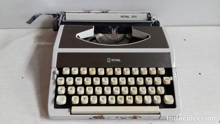 MAQUINA DE ESCRIBIR MODELO ROYAL 200 (Antigüedades - Técnicas - Máquinas de Escribir Antiguas - Royal)