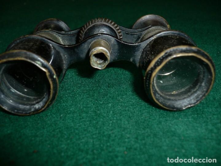 Antigüedades: Pequeños prismáticos París CHEVALIER - Foto 2 - 141881998