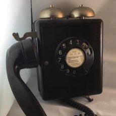 Teléfonos: ANTIGUO TELÉFONO DE BAQUELITA AUTOPHON WEIDMANN, BASTANTE BIEN CONSERVADO.. Lote 141883450