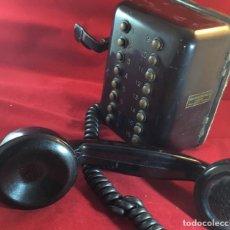 Teléfonos: ANTIGUO TELÉFONO INTERFONO O INTERCOMUNICADOR, DE STANDARD ELÉCTRICA, PARA LA CTNE. MODELO 5616 A.. Lote 142024198