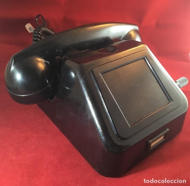 Teléfonos: Teléfono antiguo negro PTT Ericsson con magneto - Foto 6 - 112310847