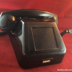 Teléfonos: TELÉFONO ANTIGUO NEGRO PTT ERICSSON CON MAGNETO. Lote 112310847
