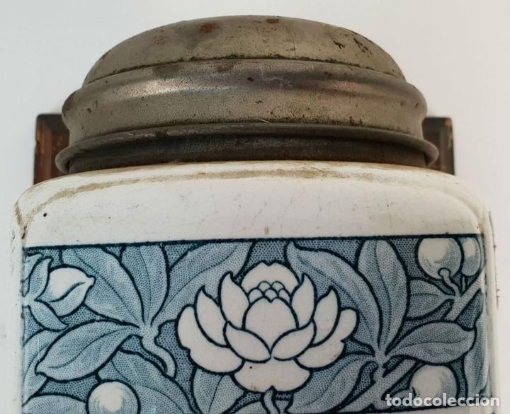 Antigüedades: MOLINILLO DE CAFE DE MURAL. ALEX ANDERWERK. ALEMANIA. CIRCA 1950. - Foto 3 - 142054454