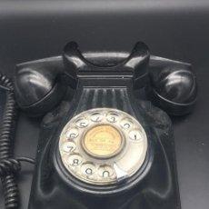 Teléfonos: TELÉFONO ANTIGUO DE BAQUELITA DE PARED DE CTNE. Lote 142070866