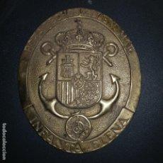 Antigüedades: PLACA BRONCE. Lote 142054190