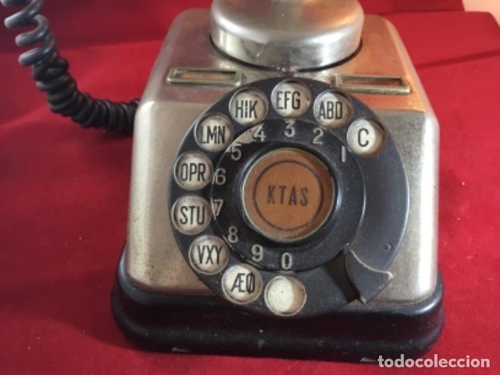 Teléfonos: Antiguo teléfono danés KTAS D-30 - Kjøbenhavns Telefon Aktieselskab - Foto 2 - 142162430