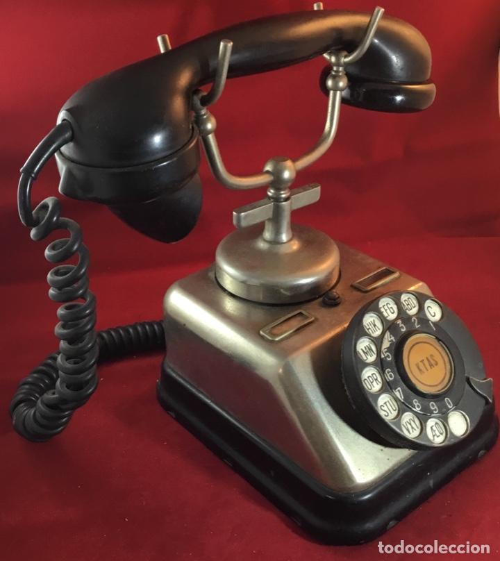 Teléfonos: Antiguo teléfono danés KTAS D-30 - Kjøbenhavns Telefon Aktieselskab - Foto 5 - 142162430