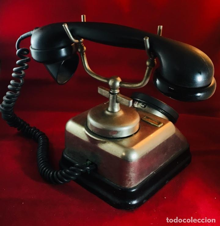 Teléfonos: Antiguo teléfono danés KTAS D-30 - Kjøbenhavns Telefon Aktieselskab - Foto 6 - 142162430