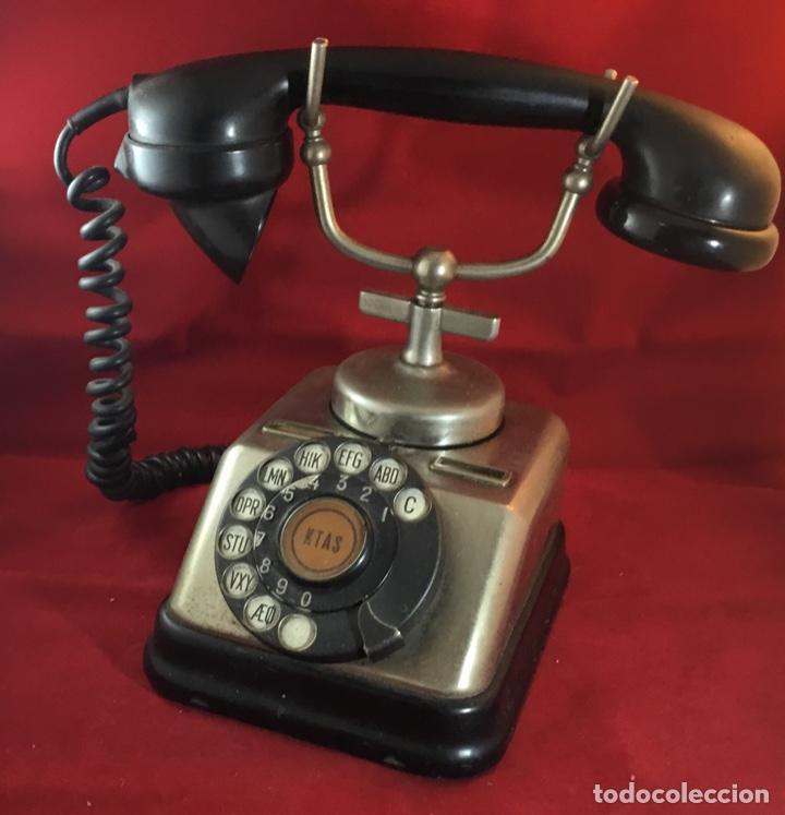 Teléfonos: Antiguo teléfono danés KTAS D-30 - Kjøbenhavns Telefon Aktieselskab - Foto 8 - 142162430