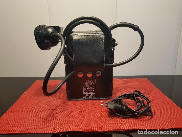 LAMPARA MINERO BUND THW (Antigüedades - Técnicas - Herramientas Antiguas - Otras profesiones)
