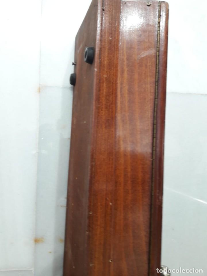 Antigüedades: antigua tricotosa de lana marca LANOFIX MODELO INDUSTRIAL PATENTADO DOBLE MANIVELA Nº 405 - Foto 9 - 142327170