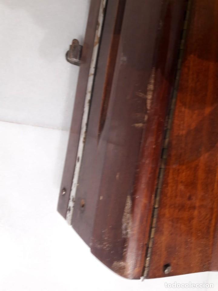 Antigüedades: antigua tricotosa de lana marca LANOFIX MODELO INDUSTRIAL PATENTADO DOBLE MANIVELA Nº 405 - Foto 15 - 142327170