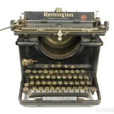 Antigüedades: MÁQUINA DE ESCRIBIR REMINGTON Nº12 AÑO 1927. TYPEWRITER SCHREIBMASCHINE. Lote 142333962