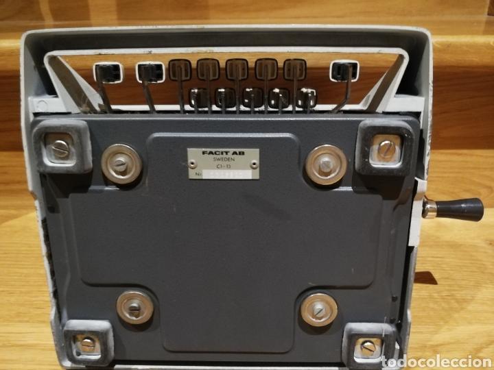 Antigüedades: Calculadora mecánica Facit - Foto 6 - 142336868