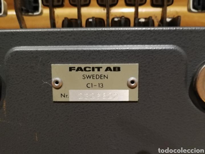 Antigüedades: Calculadora mecánica Facit - Foto 7 - 142336868
