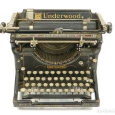 Antigüedades: MÁQUINA DE ESCRIBIR UNDERWOOD Nº3 AÑO 1901. TYPEWRITER SCHREIBMASCHINE. Lote 142342222