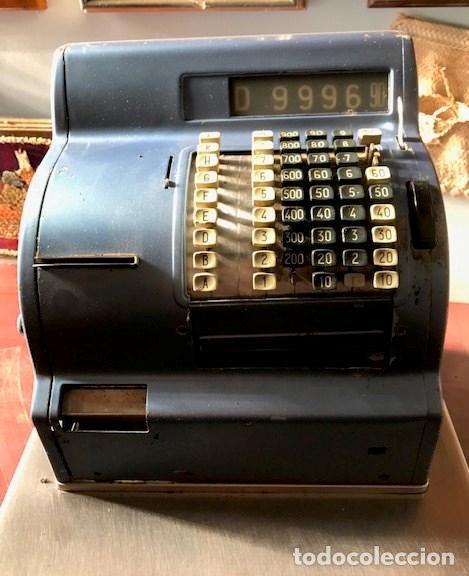 CAJA REGISTRADORA HUGIN (Antigüedades - Técnicas - Aparatos de Cálculo - Cajas Registradoras Antiguas)