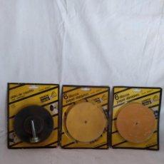 Antigüedades: TALADRIN CASALS. PLATO + DISCOS.. Lote 142592278