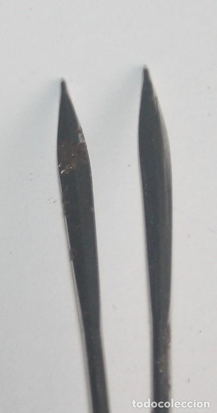 Antigüedades: Lote dos agujas de sutura uso veterinario - Foto 2 - 142608718