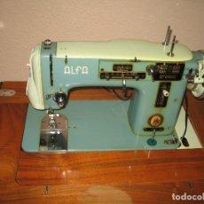 Antigüedades: MAQUINA DE COSER ALFA ELECTRONICA. Lote 142617094