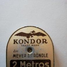 Antigüedades: METRO (2 M) KONDOR. Lote 142626150