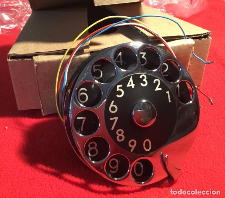 ANTIGUO DIAL PARA TELÉFONOS DE LA CTNE, ACTUAL TELEFÓNICA. ESTÁ NUEVO, NUNCA ANTERIORMENTE INSTALADO (Antigüedades - Técnicas - Teléfonos Antiguos)
