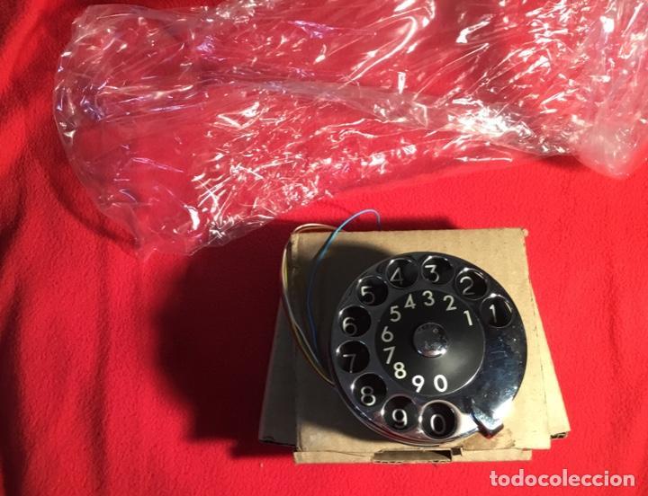 Teléfonos: Antiguo dial para teléfonos de la CTNE, actual Telefónica. Está nuevo, nunca anteriormente instalado - Foto 4 - 142644190