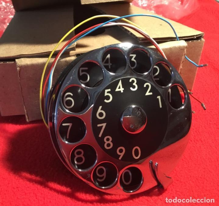 Teléfonos: Antiguo dial para teléfonos de la CTNE, actual Telefónica. Está nuevo, nunca anteriormente instalado - Foto 8 - 142644190