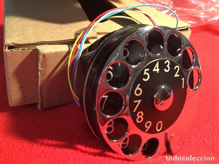 Teléfonos: Antiguo dial para teléfonos de la CTNE, actual Telefónica. Está nuevo, nunca anteriormente instalado - Foto 9 - 142644190