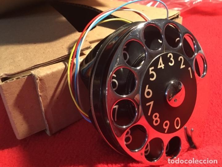 Teléfonos: Antiguo dial para teléfonos de la CTNE, actual Telefónica. Está nuevo, nunca anteriormente instalado - Foto 2 - 142644190