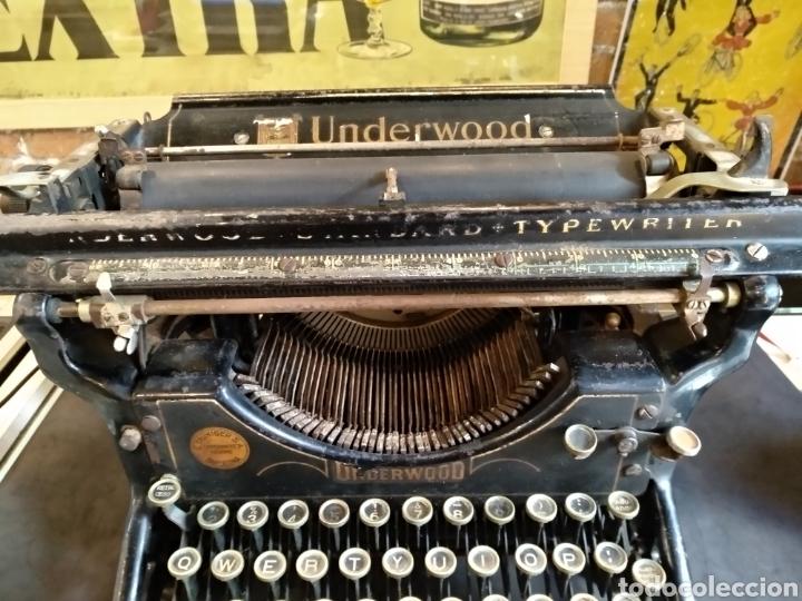 Antigüedades: Maquina de escribir Underwood. Funciona - Foto 3 - 142673692