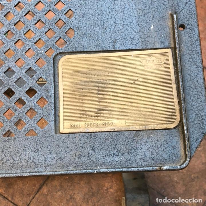 Antigüedades: Caja registradora marca hasler con su soporte incluido - Foto 8 - 142680729