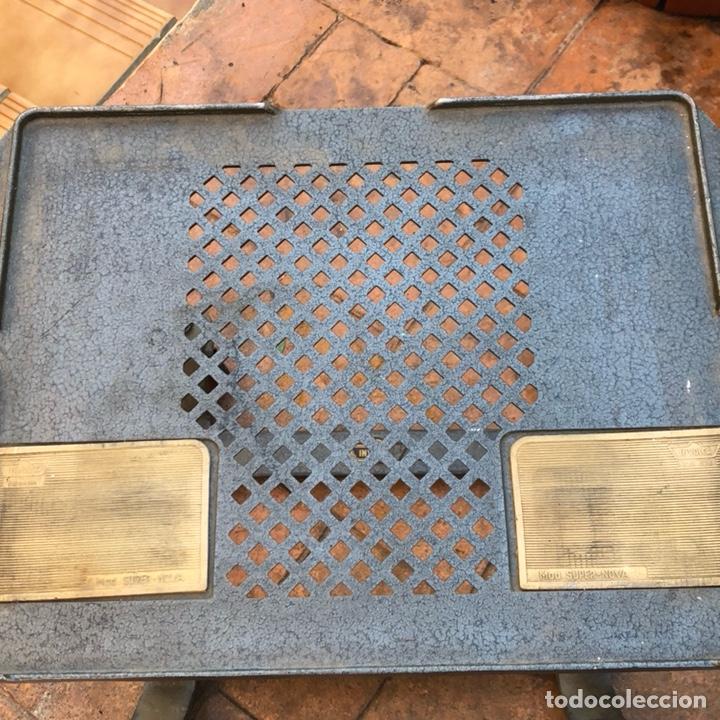 Antigüedades: Caja registradora marca hasler con su soporte incluido - Foto 11 - 142680729