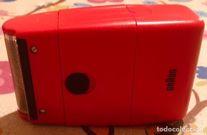 Antigüedades: Afeitadora Eléctrica Braun Cassette 70S Retro - Foto 5 - 142697316