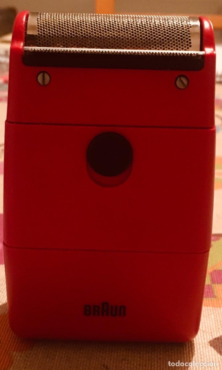 Antigüedades: Afeitadora Eléctrica Braun Cassette 70S Retro - Foto 7 - 142697316