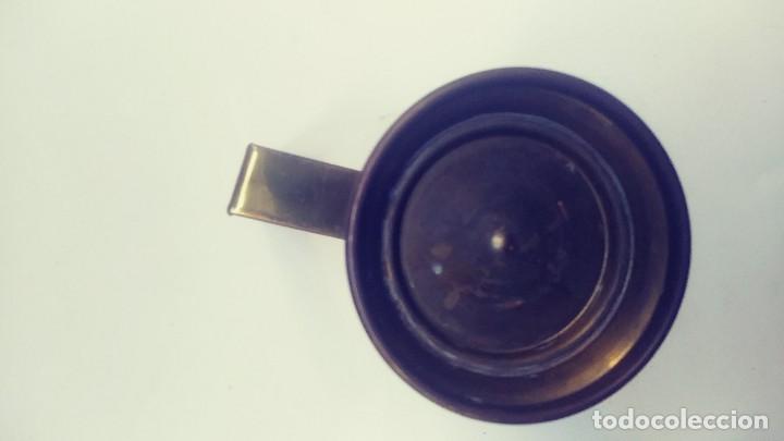 Antigüedades: medidor de liquidos de laton o cobre 1/8 - Foto 5 - 142750194