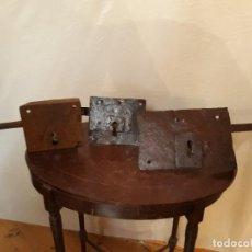 Antigüedades: CERRADURAS ANTIGUAS. Lote 142783170
